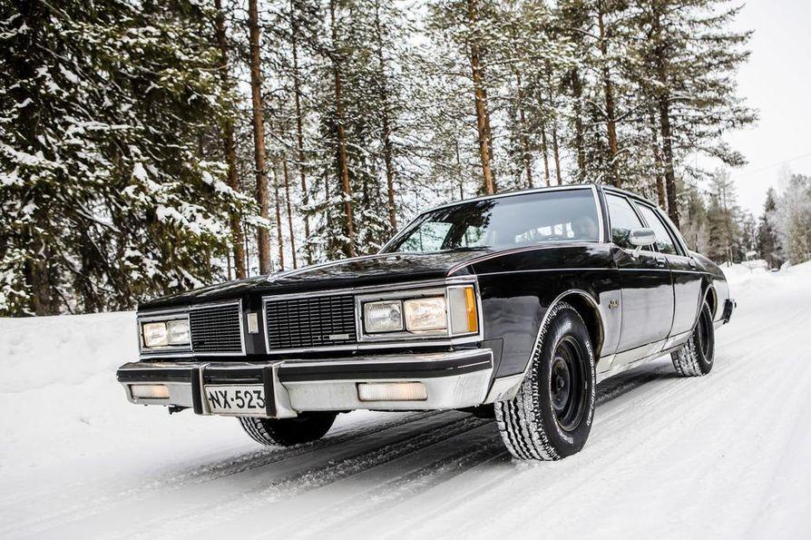 Asko Kallojärven Oldsmobile on tuttu näky Kittilän Kallossa ja vähän muuallakin: autolla on ajettu runsaat 1,2 miljoonaa kilometriä.