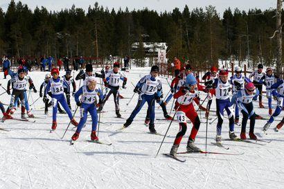 Posiolla hiihdetään - Inarin Yritys ei saanut kilpailulupaa Kultapullohiihdoille