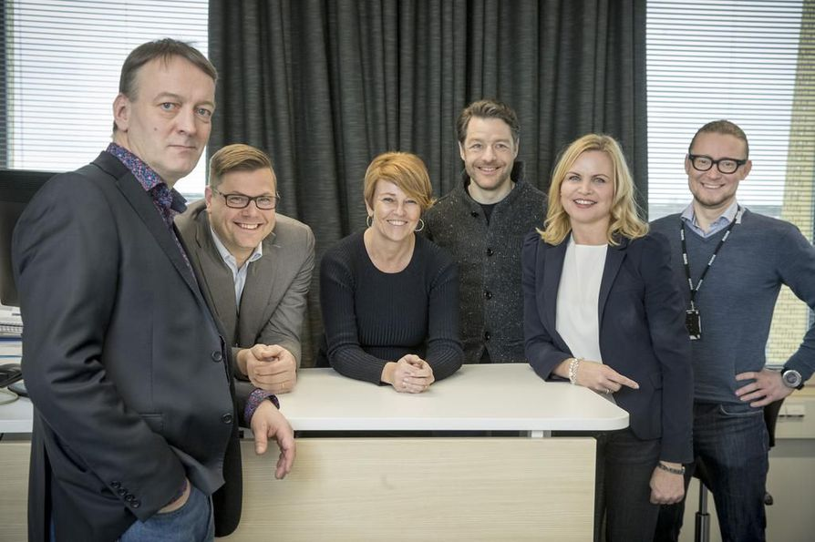 Kaleva-konsernin johtoryhmän muodostavat Juha Väyrynen, Juha Laakkonen, Anna Kärävä, Jere Teutari, Pirjo Kytösalmi ja Tommi Silfverhuth.