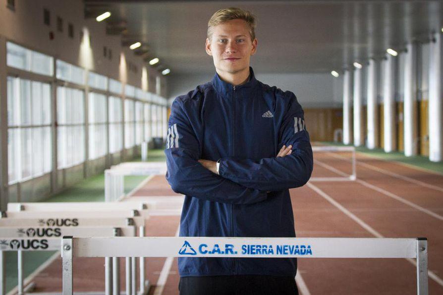 Oskari Mörö hakee uusia virikkeitä harjoitteluun Virosta yhteisistä treeneistä Rasmus Mägin kanssa.