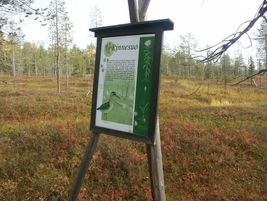 Syötteen kansallispuisto ja Iso-Syötteen retkeilyalue kuuluvat hallituksen kärkihankkeisiin. Arkistokuva.