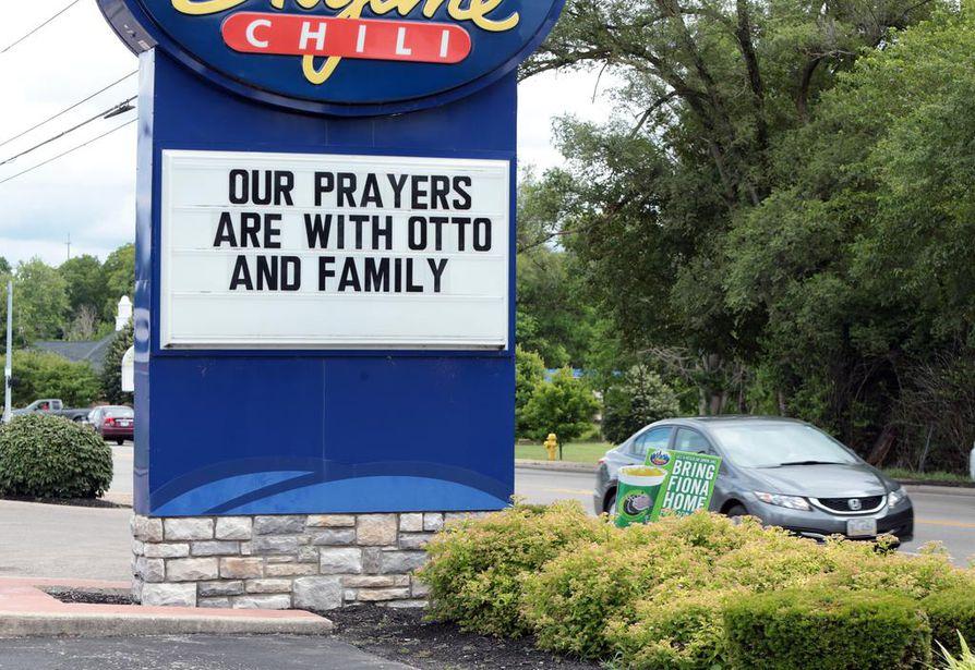 Wyomingilainen ravintola esitti tukensa Warmbierille ja tämän perheelle 15. kesäkuuta.