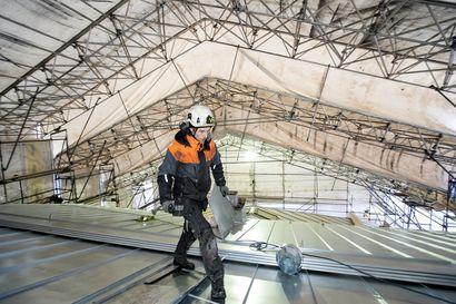 Raahen raatihouneen katon uusiminen