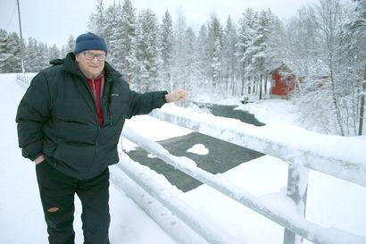 """Tauno Haltalle Ivalo–Nellim-soratien korjaaaminen oli 30-vuotinen tiesota – nyt väylää kutsutaan """"Haltantieksi"""""""