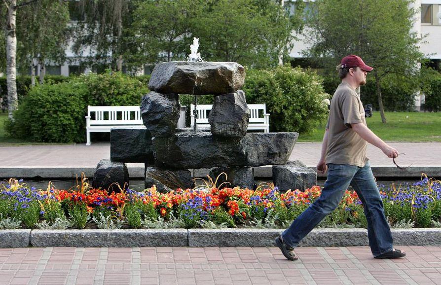Mannerheiminpuisto on saanut kokonaan uuden ilmeen. Avajaisia vietetään lauantaina 31. elokuuta.