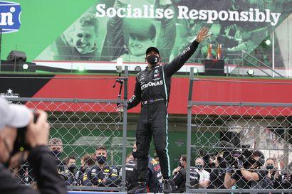 Portugalin gp:n alku tarjosi yllätystä, mutta lopulta voittaja oli tuttuakin tutumpi – Lewis Hamiltonilla nyt F1-voittoennätys