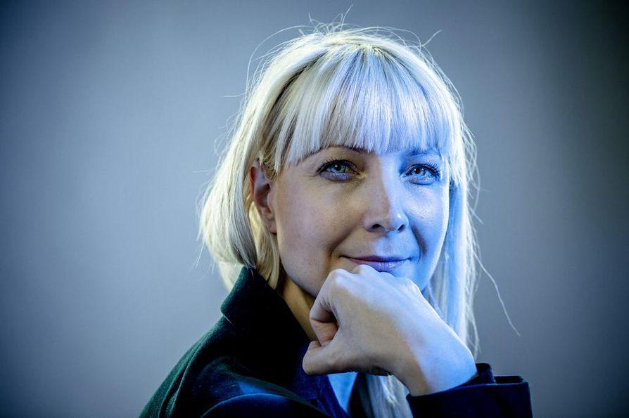 Perussuomalaisten presidenttiehdokas Laura Huhtasaari sai ennakkoääniä kolmanneksi eniten.