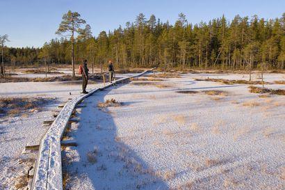 """Ensimmäiset pilkkijät ilmestyivät jo Kylmäluomalle – Kalasaaliin lisäksi Hossan """"pikkuveli"""" houkuttaa maisemillaan"""