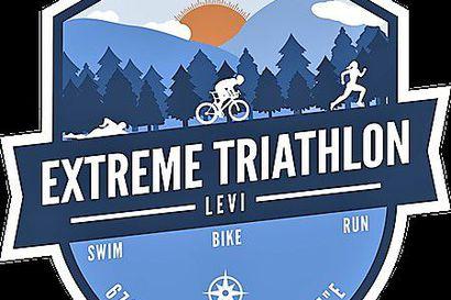 Joonas Lämsä ja Petra Sweins Levi Extreme Triathlonin ykköset