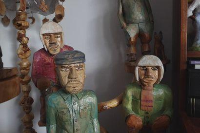 ITE-taiteilija Viljo Luokkanen kertoo, kuinka muuan Virtanen suuttui ja siivooja pillastui