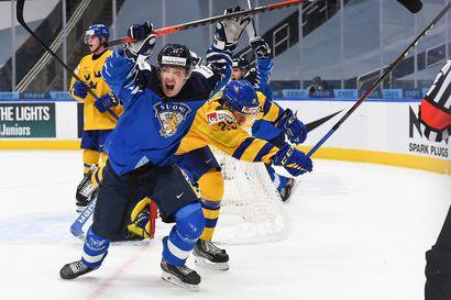 """Nuoret Leijonat kirjoitti MM-puolivälierässä uuden luvun Suomen jääkiekkohistoriaan – """"Tehtiin tämä joukkueena"""""""