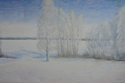 Tyrnävän kotiseutu- ja museoyhdistys on julkaissut taidekalenterin, kuvituksena Tyrnävään liittyviä taideteoksia