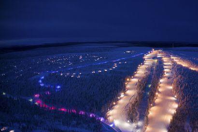 Saariselän pulkkamäen valaistus valittiin vuoden valaistuskohteeksi