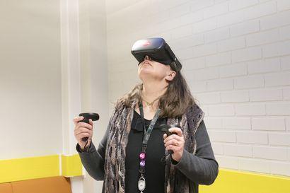 Lukijalta: Virtuaalitodellisuus auttaa potilasta, hoitajaa ja lääkäriä