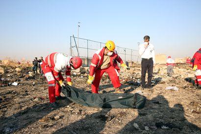 Iranin lentoturman uhrien joukossa myös ruotsalaisia