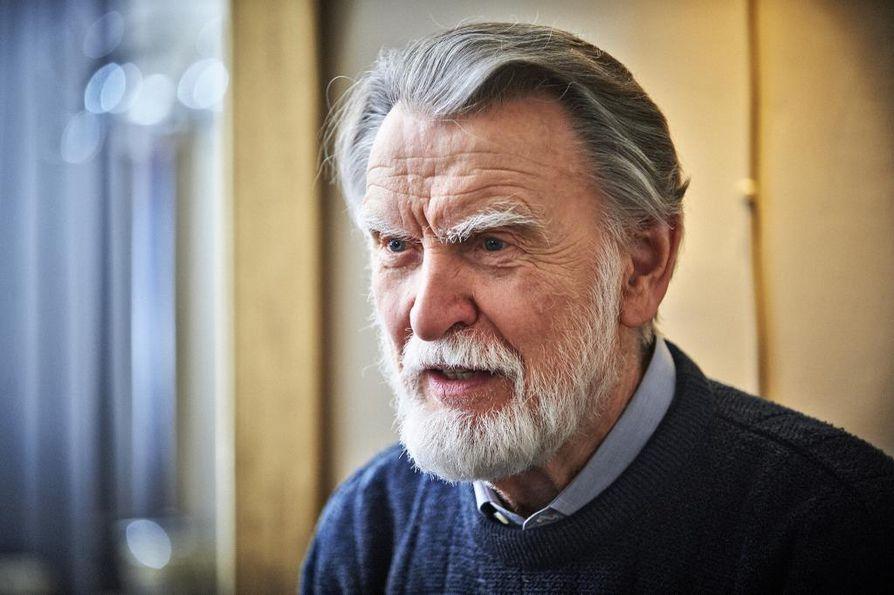 Näyttelijä Ismo Kallio on kuollut 83-vuotiaana. Arkistokuva.