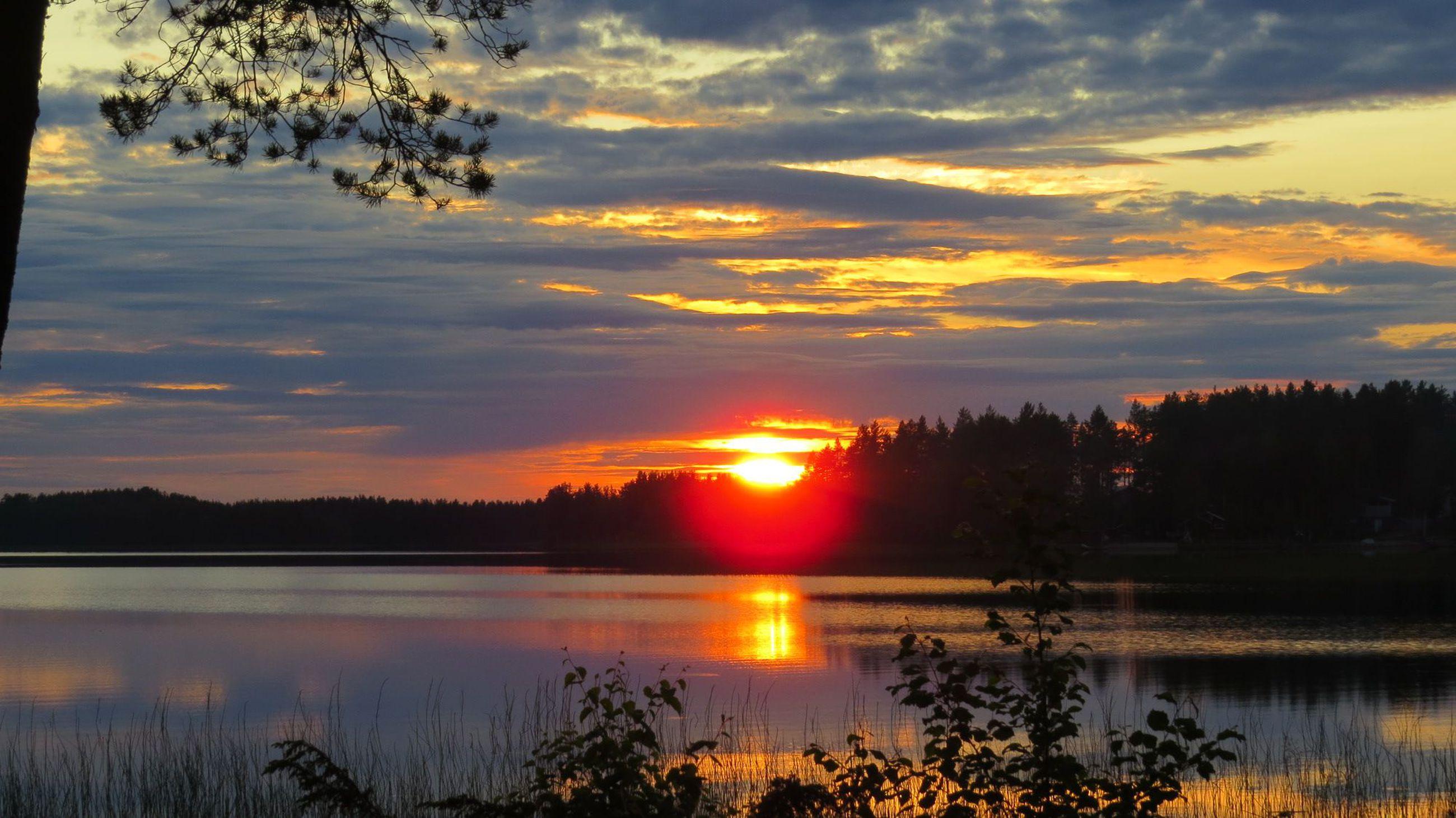 Aurinko Laskee Oulu