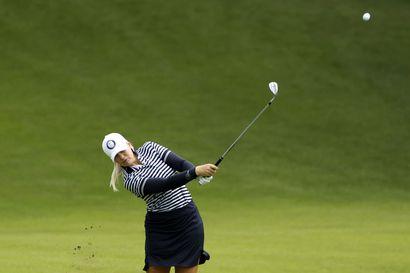 Suomen golfnaiset päätyivät sijoille 18 ja 20, kultaa Yhdysvaltain Kordalle