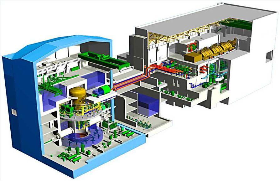 Fennovoima rakentaa enintään 1 800 megawatin ydinvoimalaitoksen. Laitosvaihtoehtoja ovat Toshiban ABWR (kuvassa), Arevan EPR ja Arevan Kerena.