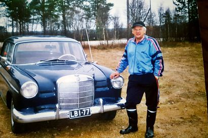 Miljoonien kilometrien taksimies – Taksiyrittäjä Erkki Keskitalo palkittiin vuoden yrittäjänä Enontekiöllä