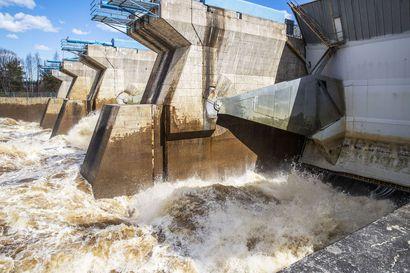 Kemijoki Oy on huolissaan voimalaitoksen tulvayleisöstä, lapsia nostetaan jopa kaiteelle kuohuja katsomaan