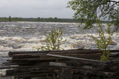 Lapin jokien tulvahuiput vasta touko-kesäkuun vaihteessa – Tornionjoelle tulossa keskimääräistä suurempi tulva