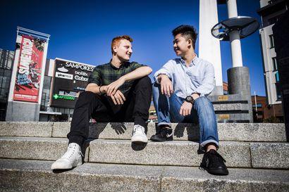Brasilialainen Filippo tuli Rovaniemelle lukioon vaihtoon, hullaantui ja jäi pysyvästi – IB-lukiota varten kaupunkiin muuttaneita vieraskielisiä tänä syksynä valmistuneista oli kaksi