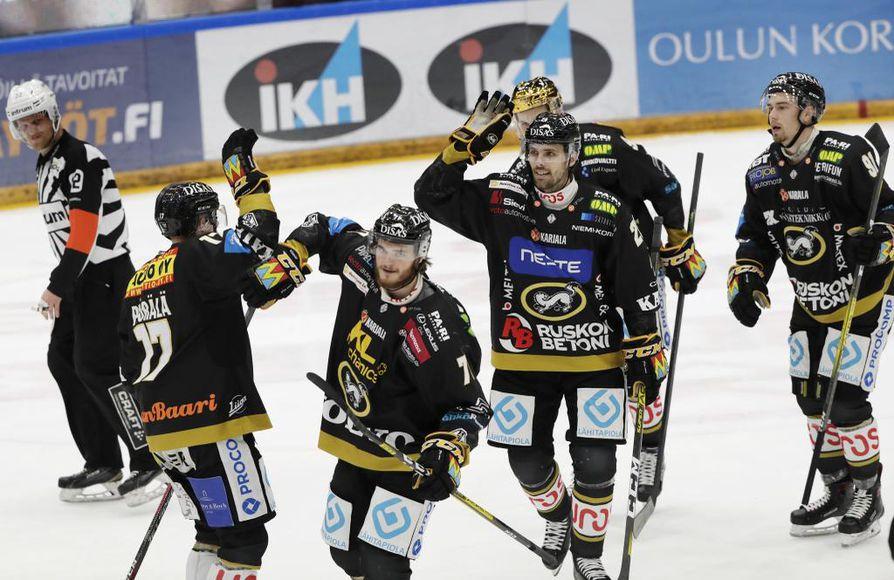 Kärpät päihitti Kalpan Raksilassa 7-1.