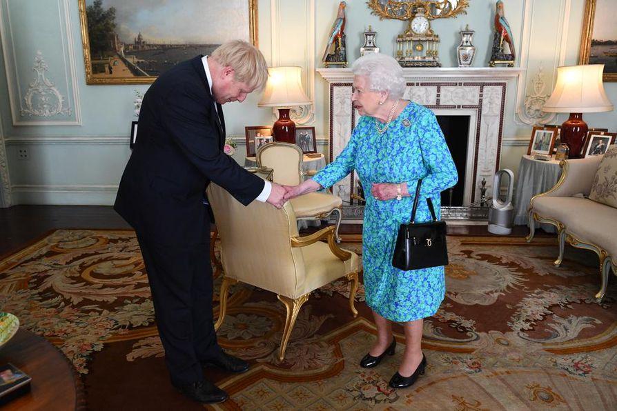 Britannian pääministeri Boris Johnson on neljästoista pääministeri, joka on ollut virassa Elisabetin kaudella.
