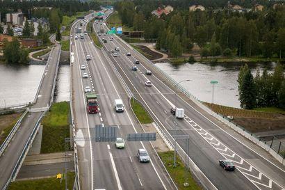 Neljä kaistaa halki Suomen - Infra ry haluaisi Nelostien moottoritieksi Helsingistä Ouluun