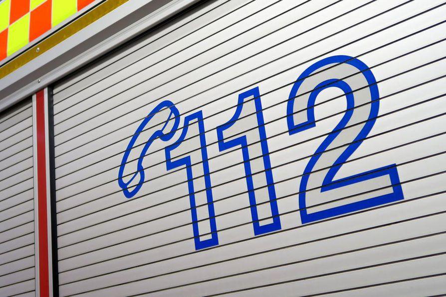 Pelastuslaitos sai hälytyksen onnettomuudesta hieman kello 16 jälkeen.
