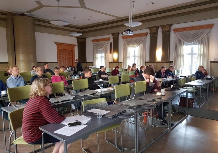 Keskustelun paikka Kunta- ja yrittäjätapaaminen 17.10.2017 aiheena kiertotalous.