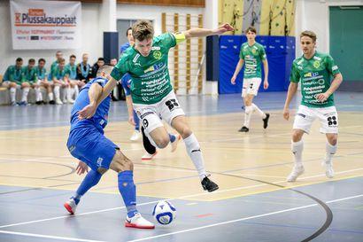 Tornion Palloveikkojen Iiro Vanhalla oli onnistunut futsal-kausi seurajoukkueessa ja maajoukkuepaidassa