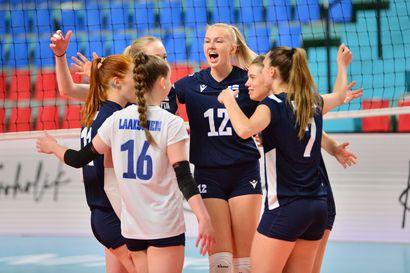 Suomen lentopallonaiset arvottiin EM-kisoissa samaan alkulohkoon Romanian, Turkin, Hollannin, Ukrainan ja Ruotsin kanssa