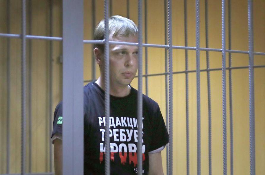 Tutkiva journalisti Ivan Golunov on hengissä, mutta on joutunut Venäjän turvallisuusviranomaisten ja oikeuslaitoksen myllytykseen.