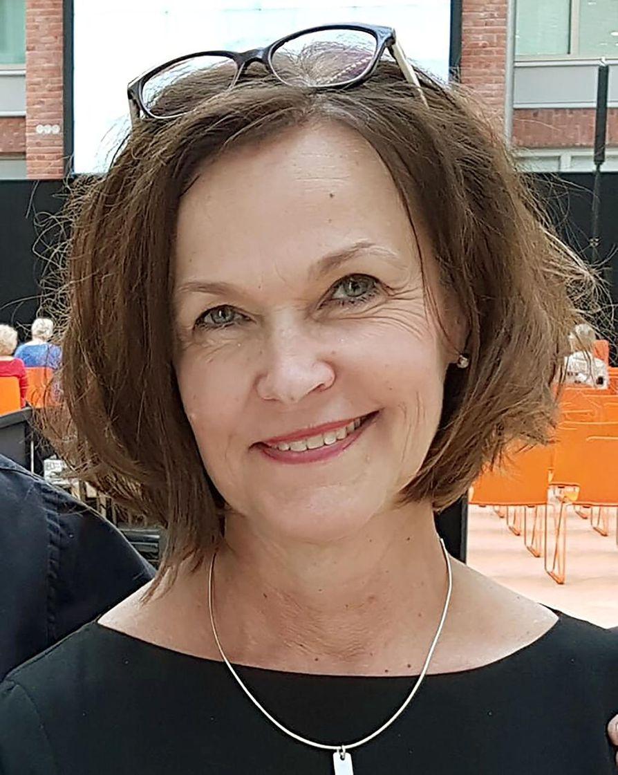 Kuhmon Kamarimusiikin toiminnanjohtaja Sari Rusanen.