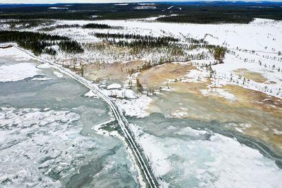 Pajalassa pelätään, että rautakaivos pilaa rajajoen – tältä tilanne näyttää paikallisten ottamissa kuvissa