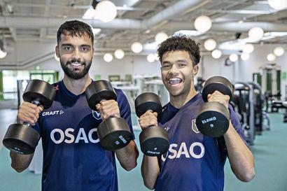 Rauta on nyt kuumaa tulokkaille – Fareed Sadat ja Jusif Ali yrittävät murtautua AC Oulun vakituiseen kokoonpanoon