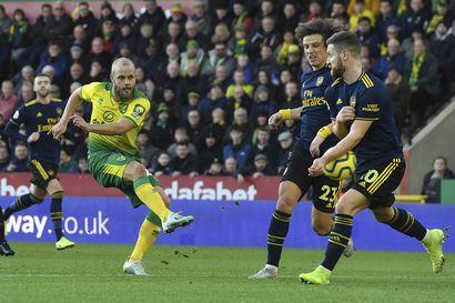 Teemu Pukki onnistui vihdoin maalinteossa – Norwich ja Arsenal pistejakoon