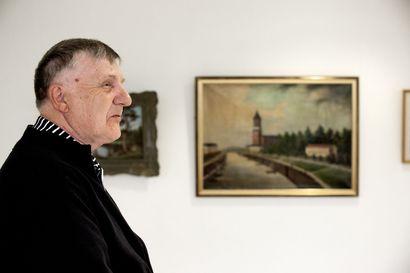 Heikki Vilenius näki Raahelassa taulun, joka miellytti häntä – Siitä alkoi vuosikymmeniä kestänyt taidekeräily