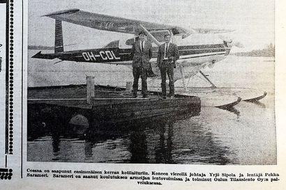 Vuosien takaa: Raahessa aloitettiin tilauslentoliikenne