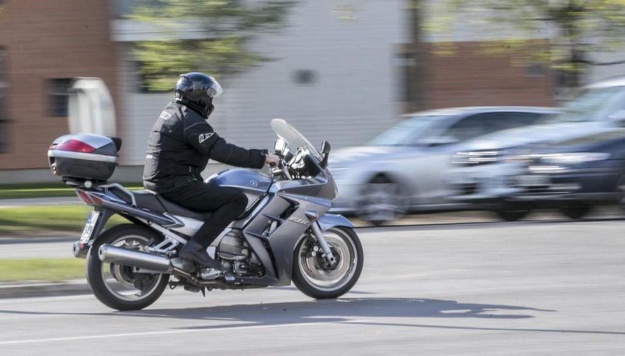 Moottoripyörät tulevat teille talven jälkeen. Arkistokuva.