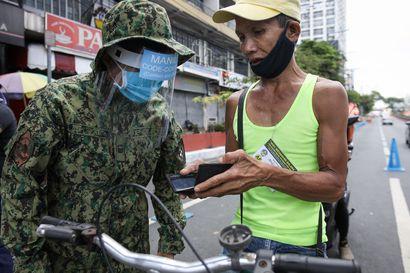 Filippiinien presidentti: Ampukaa ulkonaliikkumiskieltoa rikkovat kuoliaaksi!