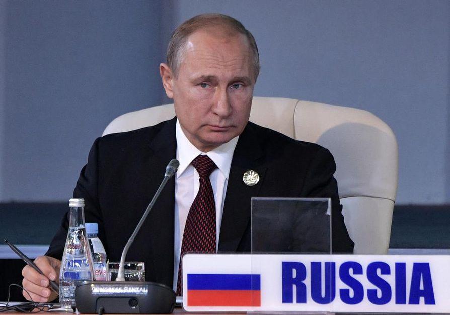 Venäjän presidentti Vladimir Putin on määrännyt Venäjän turvallisuuspalvelun selvittämään räjähdyksen syyn. Arkistokuva.