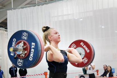 Aino Luostarinen rutisti junioreiden EM-kultaa Eilatissa