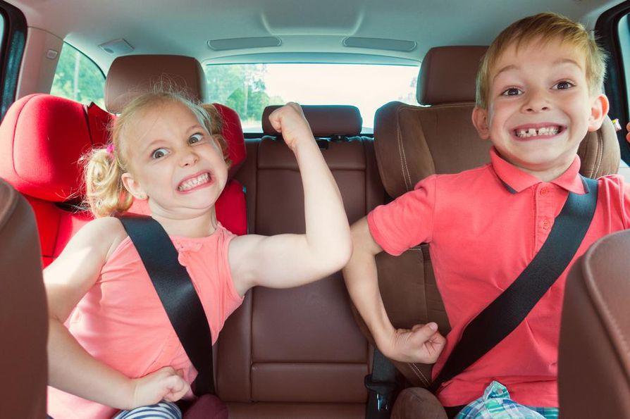 Lasten kanssa matkustaessa nopein reitti on aina paras, neuvoo Timo Tarvainen.