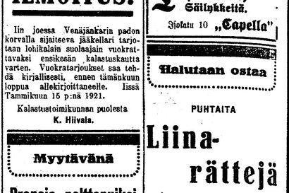 Vanha Kaleva: Insinööri B. Gagneur tutkii, saadaanko Oulussa vesijohtovettä pian maan sisästä?