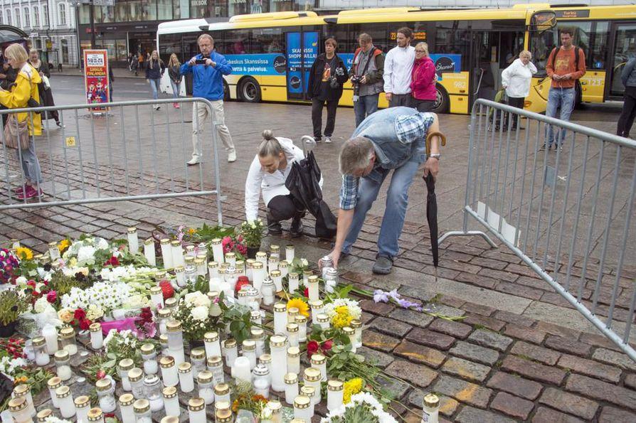 Puukotukset tapahtuivat Turun keskustassa elokuun puolivälissä.
