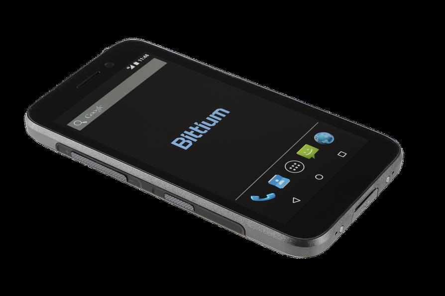Bittium esittelee uuden Android-pohjaisen älypuhelimen.