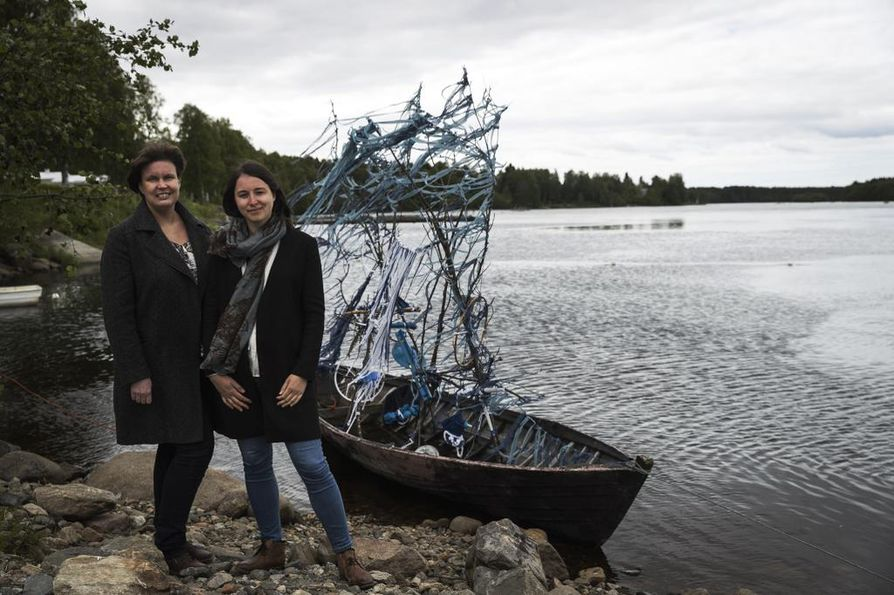Taiteellinen johtaja Merja Briñón ja kuraattori Anastasia Patsey ovat ilahtuneita tapahtuman herättämästä kansainvälisestä kiinnostuksesta.
